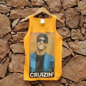 T-SHIRT Tom Cruise Cut-off Sz: S